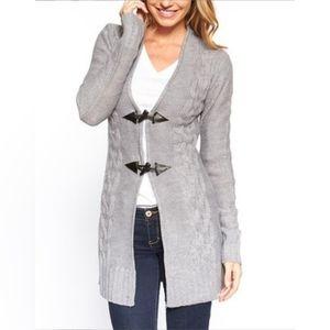 YOKI Long Gray Sweater